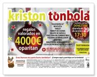 """Cartel """"KRISTON TONBOLA"""""""